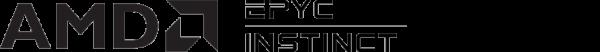AMD EPYC™ and AMD Instinct™ logos