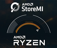 The Latest AMD Ryzen™ Platforms Feature AMD StoreMI Technology